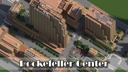 Rockefeller Center, Manhattan, New York City Minecraft Map & Project