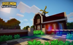 Pallet Town - Professor Oak's Lab Minecraft Map & Project