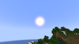 Circle Sun and Moon Minecraft Texture Pack