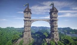 The Twins Medieval Towers Minecraft Map & Project
