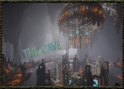 Server Hub The Cave for CycloneNetwork Minecraft Map & Project