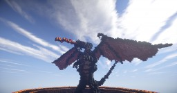 --[//Melkor,The Dragon//]-- Over 20,000 blocks Minecraft Map & Project