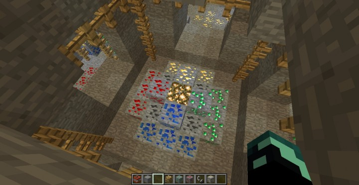 Sheep Quest Mineshaft Map Minecraft Map