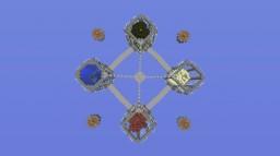 Skywars - Elemental Minecraft Map & Project