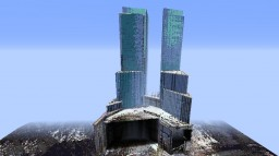 Time Warner Center [Full Scale] Minecraft Map & Project