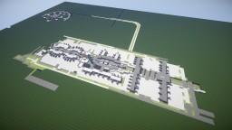 Paris Charles de Gaulle Airport model Minecraft Map & Project