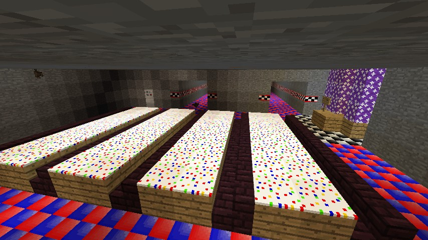 Five Nights At Freddys Map Minecraft Project - Maps fur minecraft 1 10