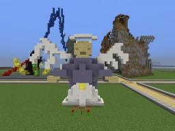 Hellen Keller Memorial Angel Minecraft Map & Project
