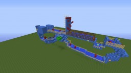 WipeOut Minecraft Race Minecraft Map & Project