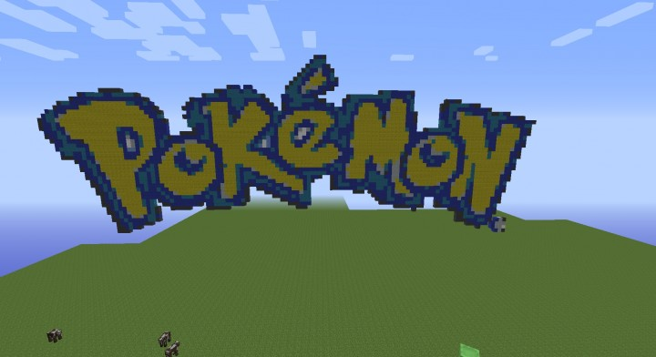 Pokemon logo ftw minecraft project - Pokemon logo minecraft ...