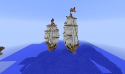 Dutch and Belgian ships Minecraft Project