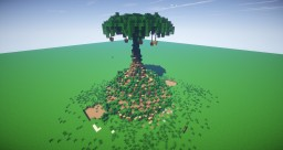 Elven Treehouse- Ellesmera (The Inheritance cycle) Minecraft Map & Project