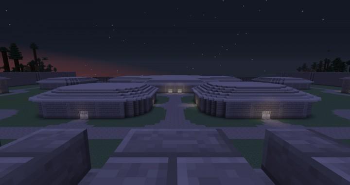 Survival games arena