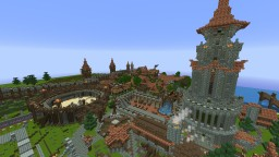 City of Verdell Minecraft Map & Project