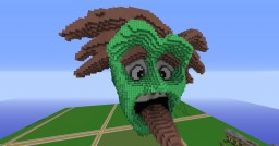 Crazy Face Organic Minecraft Map & Project