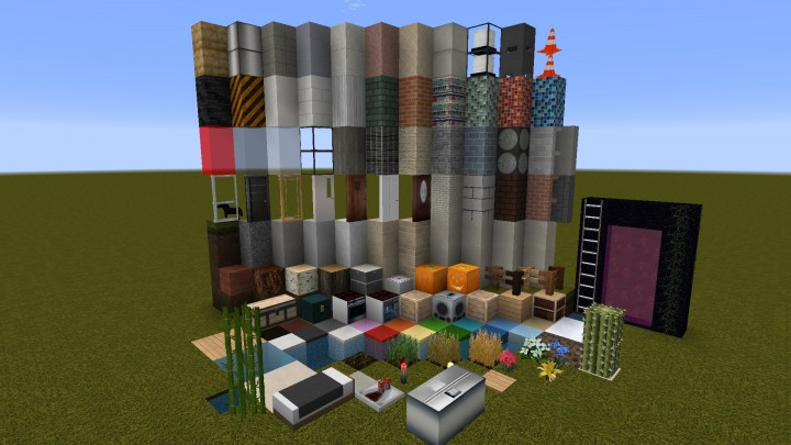 64x huntington city resource pack v1 7 july 2016 mc minecraft texture pack. Black Bedroom Furniture Sets. Home Design Ideas