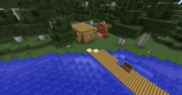 Simple Hunting Camp Minecraft Project