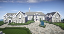 Stone Mansion Minecraft Map & Project