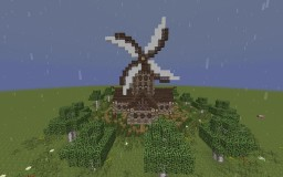 Medieval Windmill Minecraft Map & Project