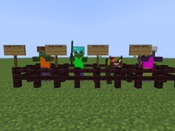 Much More Zombies Mod V0.0.3 Minecraft Mod