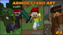 Armor Stand Art #4 -- Awesome 1.8 Creations Minecraft Map & Project