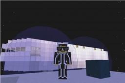 WORKING SPACESHIP. Minecraft Map & Project