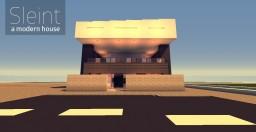 Sleint - Modern House Minecraft Project