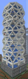 The Crystal Tower Minecraft Map & Project