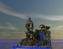 Some towers stationed on some cliffs Minecraft Map & Project