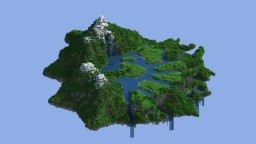 Floating Hub Terraform Minecraft Map & Project