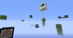 CUBE SURVIVAL AND DUNGEONS Minecraft Map & Project