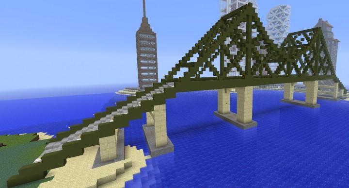 Truss Bridge Minecraft Project