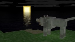 The Lonely Wolf! Minecraft