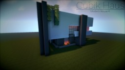 """Cubik Haus"" - Modern House 4 Minecraft Map & Project"
