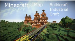 Map Buildcraft & Industrial Craft 1.7.10 Minecraft Map & Project