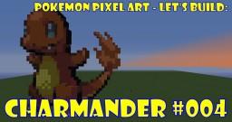 Pokemon Pixel Art - #004 Charmander