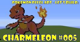Pokemon Pixel Art - #005 Charmeleon