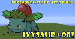 Pokemon Pixel Art - #002 Ivysaur