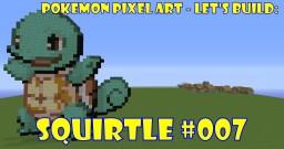Pokemon Pixel Art #007 Squirtle
