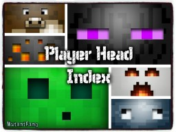 Player Head Index Minecraft Blog Post