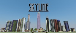 Skyline - modern towers including the LA Bank Tower, Infinity Tower and much more Minecraft Map & Project