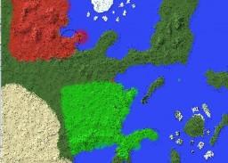 Naruto World-Painter Map Minecraft Map & Project