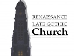 Late gothic/Renaissance church Minecraft Map & Project