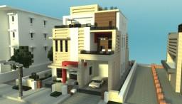 Modern Townhouse Duplex Minecraft Map & Project