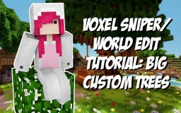 Voxel Sniper/World Edit tutorial: Big custom trees! Minecraft Blog Post