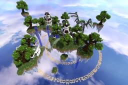 Vortex Network Skyblock Spawn Minecraft Map & Project
