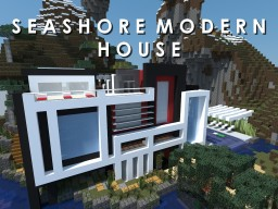 Seashore Modern House Minecraft Map & Project
