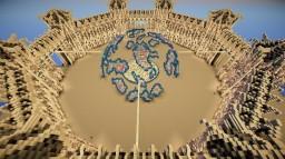 large spawn/hub Minecraft Map & Project