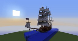 Helvinthion's finest -  Montchell's Nightmare (104 gunned attack ship) Minecraft Project