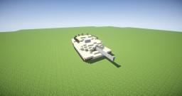 M1 Abrams Tank - Minecraft Build Minecraft
